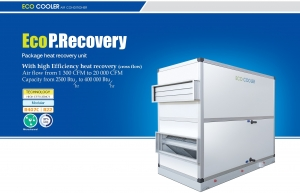 eco heat recovery package header